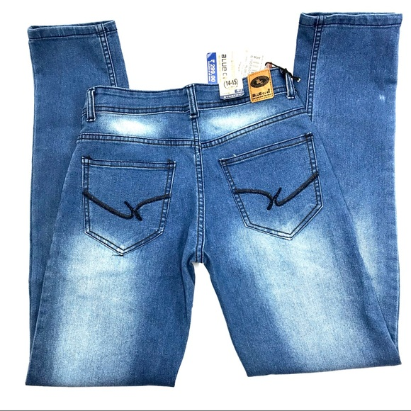 Blue Coin Denim - Blue Coin Jeans, Size 40, 14-15 Years, NWT